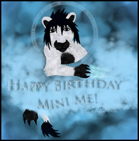 Happy Bday Mini me by WoLfgIrLyS