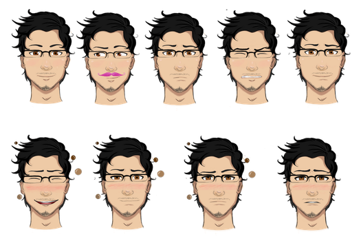 Mark Sprites by Senseless-Psychosis