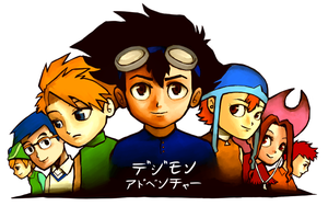 Digimon Group by student-yuuto