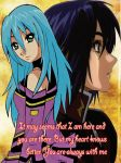 Another style:Aella and Athrun by SealZone