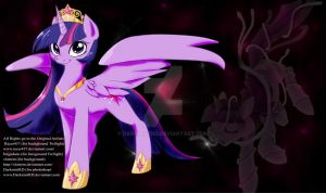 Last of my photoshop/playmats Princess Twilight by DarkmistRD