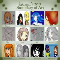 2011 art summary meme by Hishimy