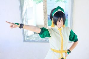 Toph Bei Fong - You know what to do. by Sorel-Amy