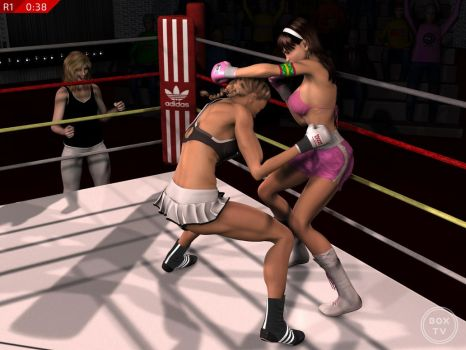 Perspective: Alesia Schumann vs. Lilly Sanchez 18 by alesiaboxing