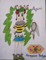 Ryukyu Gym Leader #3: Apini by Brawl483