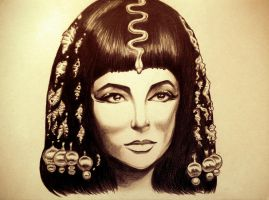 Cleopatra by silent741