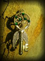 Tree of Life Fantasy Key by ArtByStarlaMoore