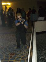 Wesker on the Move by BlueEyesMaster