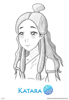 Katara Sketch by Sergey-Kun