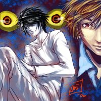 Deathnote:---NoRestForTheWeary by omittchi