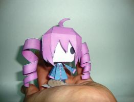 kasane teto - papercraft by Gravichan