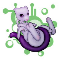 Little mewtwo by Theinkcat