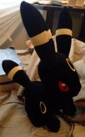 Umbreon Plush by MysteryBeliever-KJB
