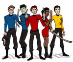 Phasers, Bats, Poles, + Swords by Sweet-Nectarine
