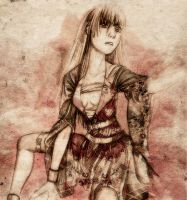 The 18 year old Enma Ai by artauxeo