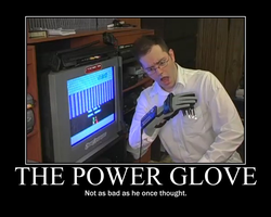 The Power Glove by DHK1989