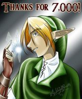 Thanks for 7,000 by UNIesque