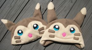 Blue-eyed Furret Hats by Jacqueline-Victoria