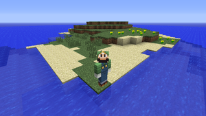 Minecraft - Trapped on an island... by Nicolol881
