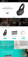 Bose - Redesign by webwill