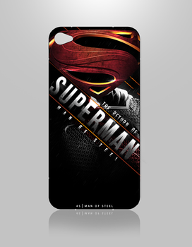 4S. Man Of Steel Case by SkipperArt