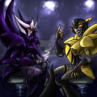 TF - Energon Lattes. by BLACK-HEART-SPIRAL