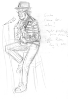 Live music sketch by thenumber42