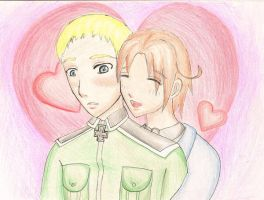 APH: Germany x Italy by Minya40
