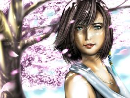 Yuna - Final Fantasy by nilec88