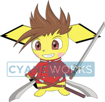 Commission Pichu as Lloyd for Elusive Creation by Cyane-ei