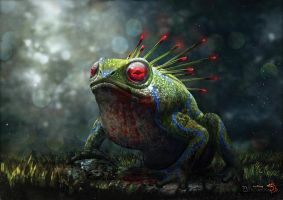Battle Toad by eloel