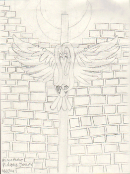 Pidgey Jesus (GIF) by SuicideParker