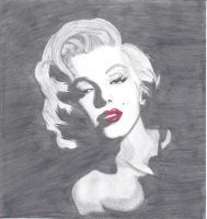 Marilyn Monroe by gemogirl98
