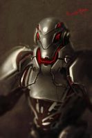 Marvel Fan Art ULTRON_X by benedickbana