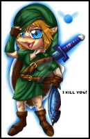 Chibi Link by Anglerfish5