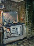 Aunt Gertrud's Cooking Stove by Art-deWhill
