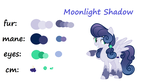 Moonlight Shadow (my oc) by StrawBerryCupcakes7