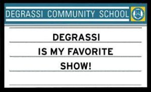 My Degrassi Sign by chaylyn08