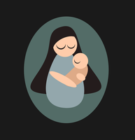 Mother and child by purecoincidence