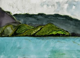 Hanalei by paintedfingers