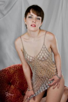 See Through Chainmail Dress by Utopia-Armoury