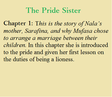 The Pride Sister Chapter 1 by TM1Forever