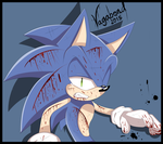AT: Wounded Sonic by VagabondWolves