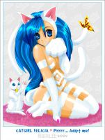 Catgirl Felicia by cloudberry