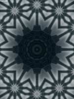 Flying Grave Point Kaleidoscope by CarlosAE