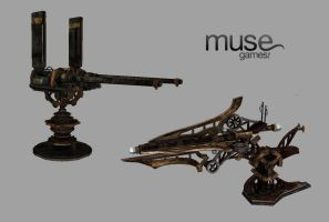 Gun Models 2 by musegames
