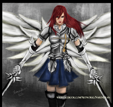 Erza Scarlet - Fairytail by theNair