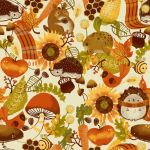 Autumn Pattern by pronouncedyou