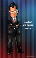 A tribute to Mr. Colbert by LanotDesign