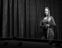 to play billiards by mitja